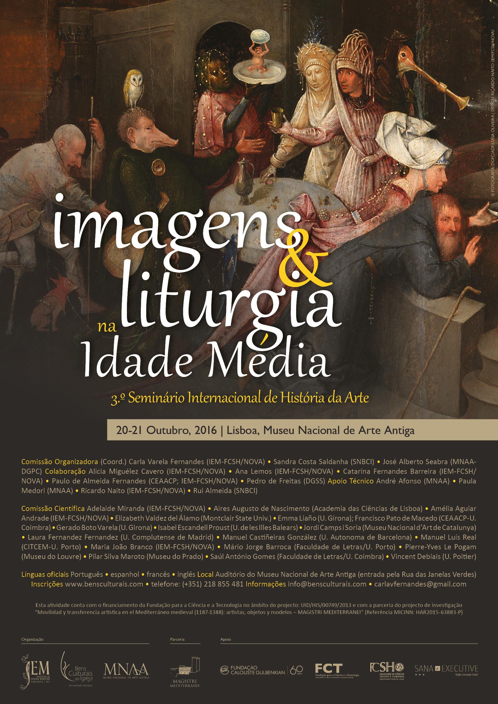 imagens e liturgia2016 cartazpt